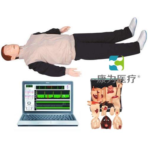 """""""万博体育app登陆医疗""""高级电脑心肺复苏与创伤标准化模拟病人(计算机控制 二合一功能)"""