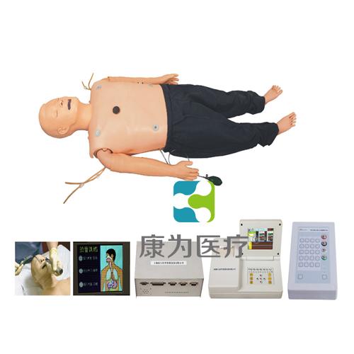 """""""万博体育app登陆医疗"""" 高级多功能急救训练标准化模拟病人(心肺复苏CPR、气管插管、除颤起搏四合一功能、嵌入式系统)"""