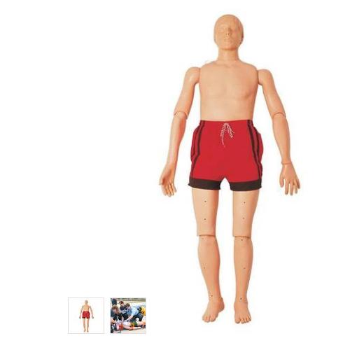 德国3B Scientific®水上救护模型,带复苏功能(成人),165 cm