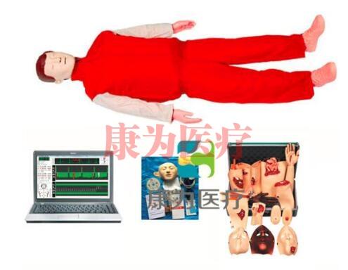"""""""万博体育app登陆医疗""""高级心肺复苏、创伤标准化模拟病人(计算机控制、二合一组合)"""