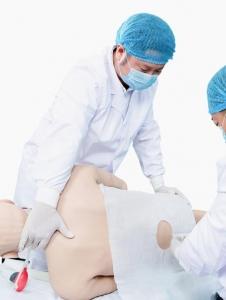 """""""康为医疗""""高级腰椎穿刺仿生标准化病人(全身骨骼)"""